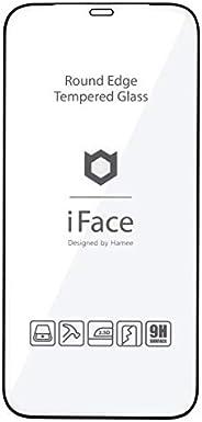 iFace iPhone 12/12 Pro 專用 玻璃膜 圓形邊緣 屏幕保護膜 [黑色]