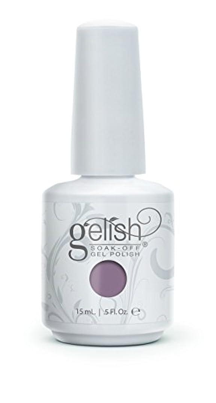 卒業記念アルバム保持するいらいらさせるHarmony Gelish Gel Polish - I Or-chid You Not - 0.5oz / 15ml
