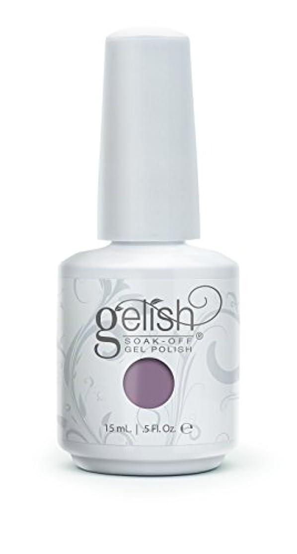 後退する遺棄された居眠りするHarmony Gelish Gel Polish - I Or-chid You Not - 0.5oz / 15ml