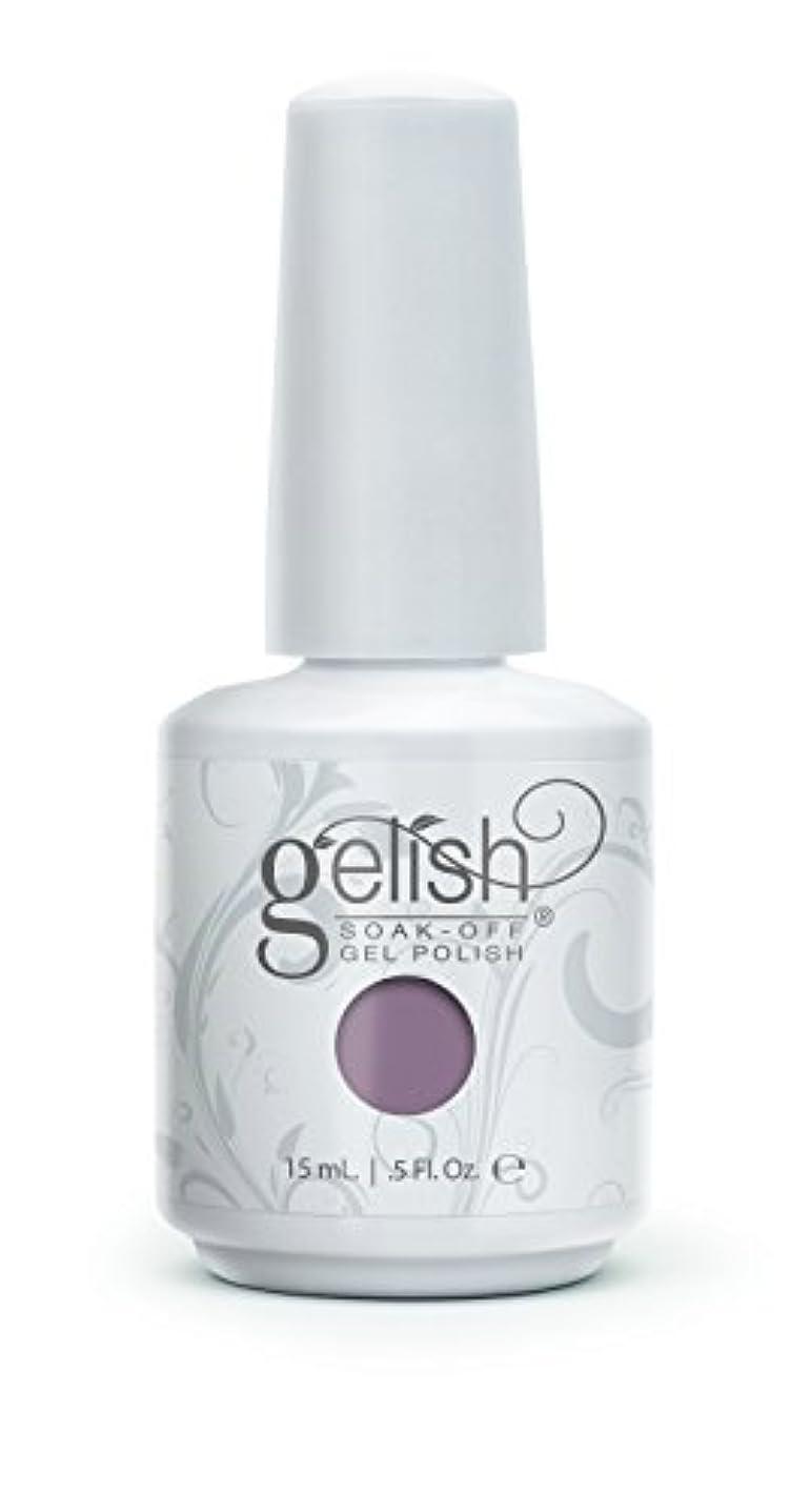 平手打ちファイバエチケットHarmony Gelish Gel Polish - I Or-chid You Not - 0.5oz / 15ml