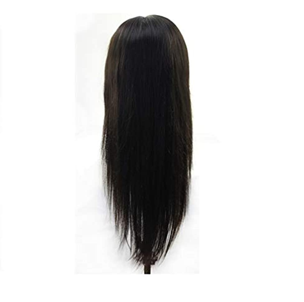 ビスケット同行する灌漑女性13 * 6レースフロントウィッグブラジルバージンストレート人間の髪グルーレス長い人間の髪かつらで赤ちゃん髪短いレースかつら調節可能なストラップ