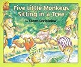 Five Little Monkeys Sitting in a Tree Book & Cassette (Carry Along)