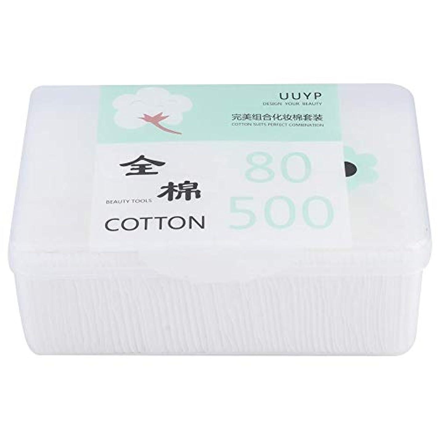 使い捨て可能な綿パッドの構造の取り外しのワイプ、乾燥したぬれた使用のための表面清潔になるパッド(03)