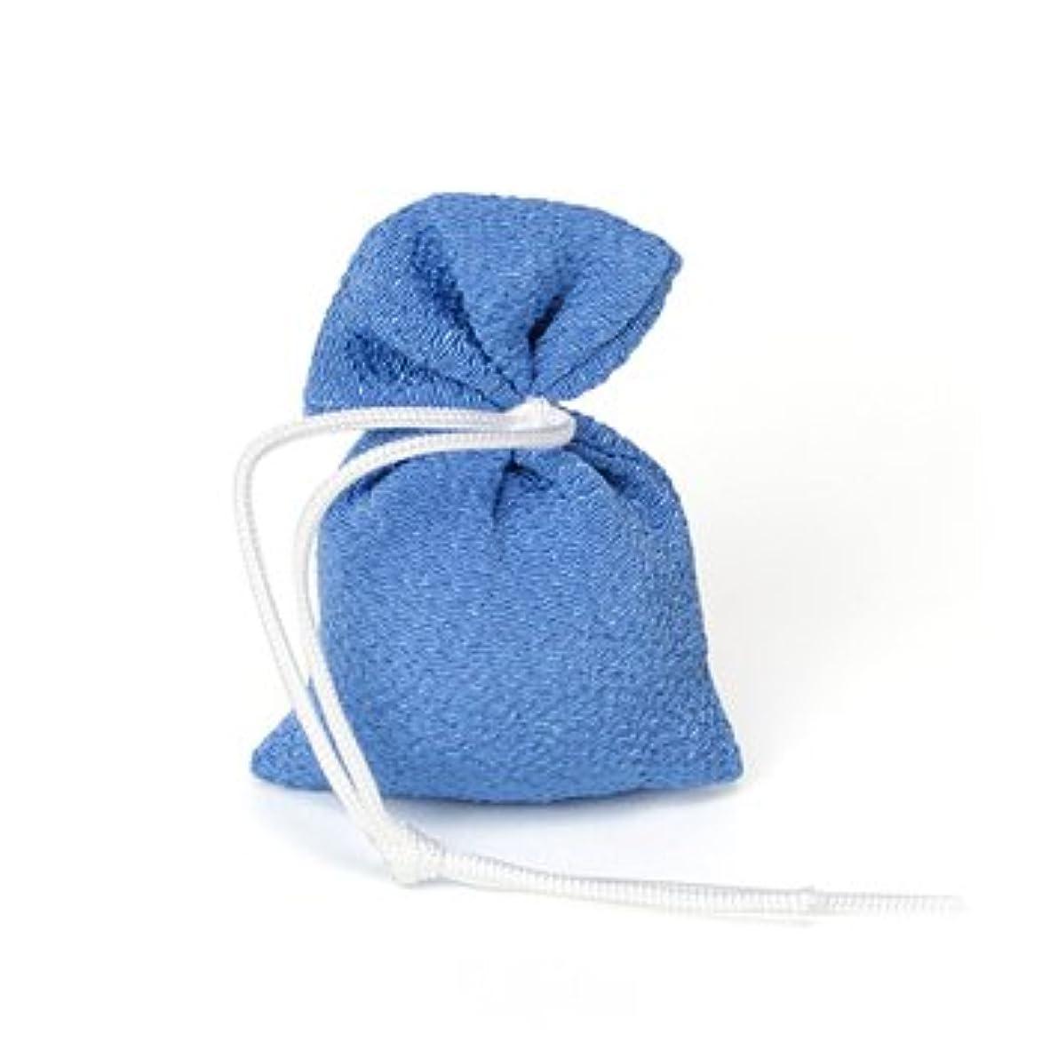 比率説得力のある名目上の松栄堂 匂い袋 誰が袖 上品(無地) 1個入 (色をお選びください) (青)