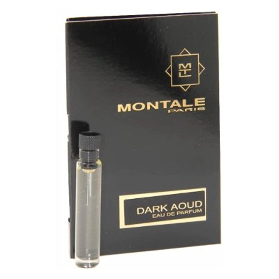 ポジション石膏刺繍Montale Dark Aoud EDP Vial Sample 2ml(モンタル ダーク ウード オードパルファン 2ml)[海外直送品] [並行輸入品]
