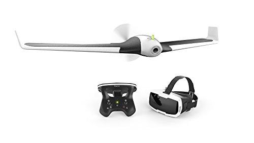 【国内正規品】Parrot ドローン Disco + Skycontroller2 + FPVゴーグル FPVセット 固定翼ドローン 45分飛行時間 PF750071