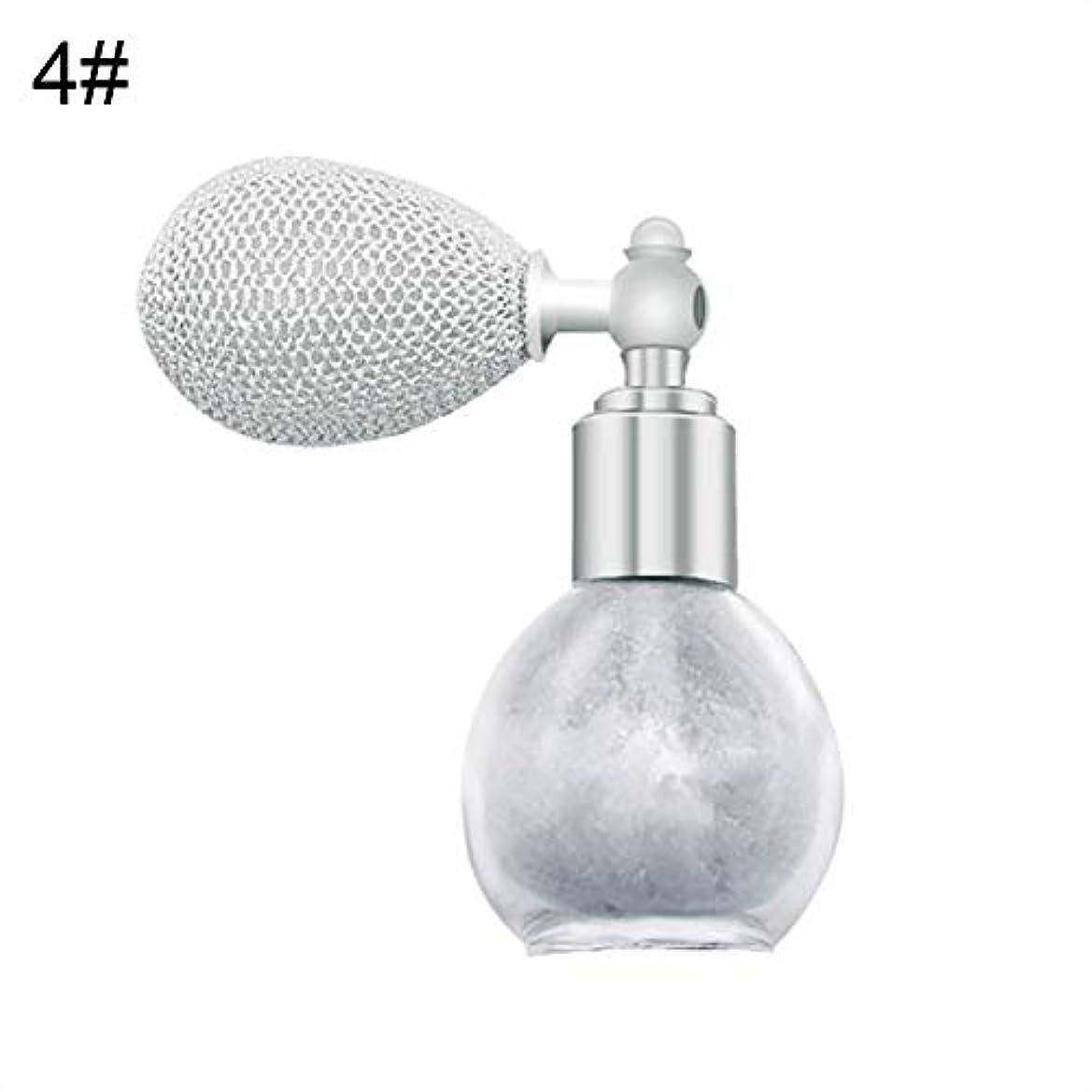 グレードバイソン夜FANA女性美容エアバッグスプレーフレグランスグリッターハイライトパウダー化粧品 - 4#