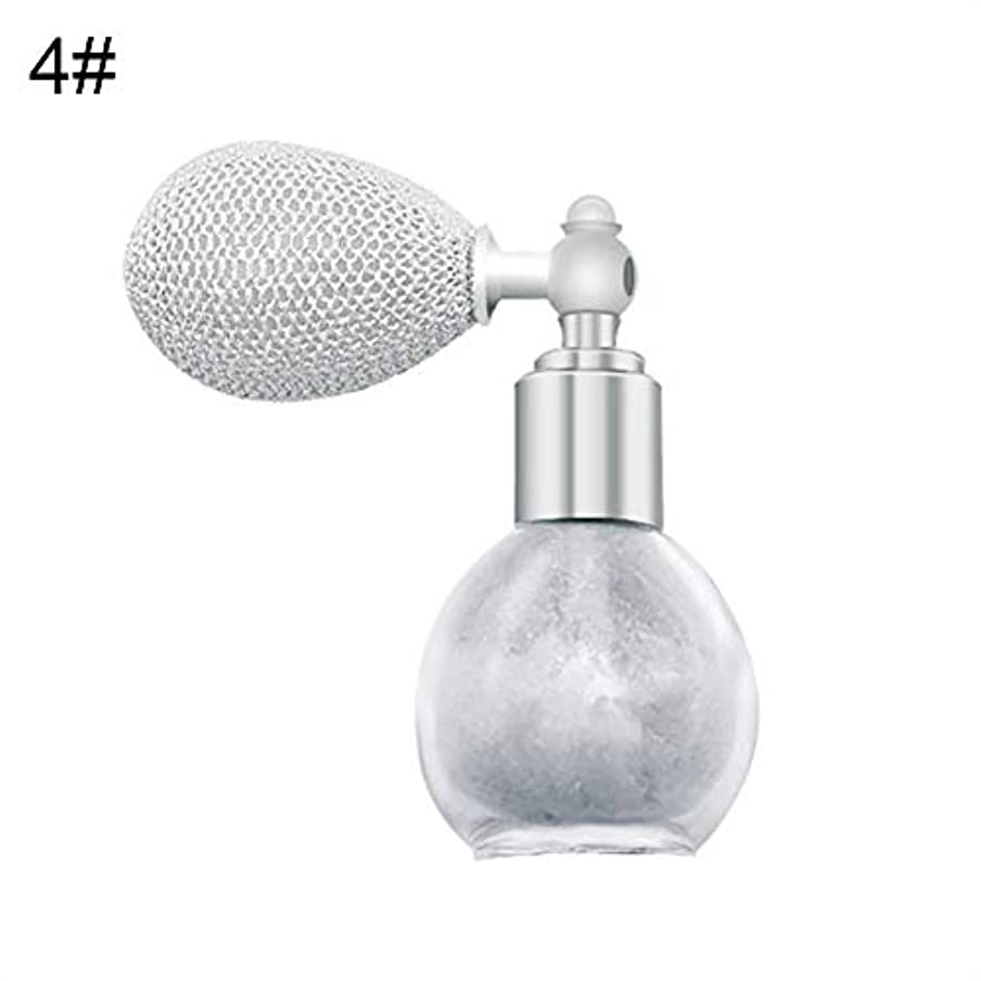 役立つ汗なにFANA女性美容エアバッグスプレーフレグランスグリッターハイライトパウダー化粧品 - 4#