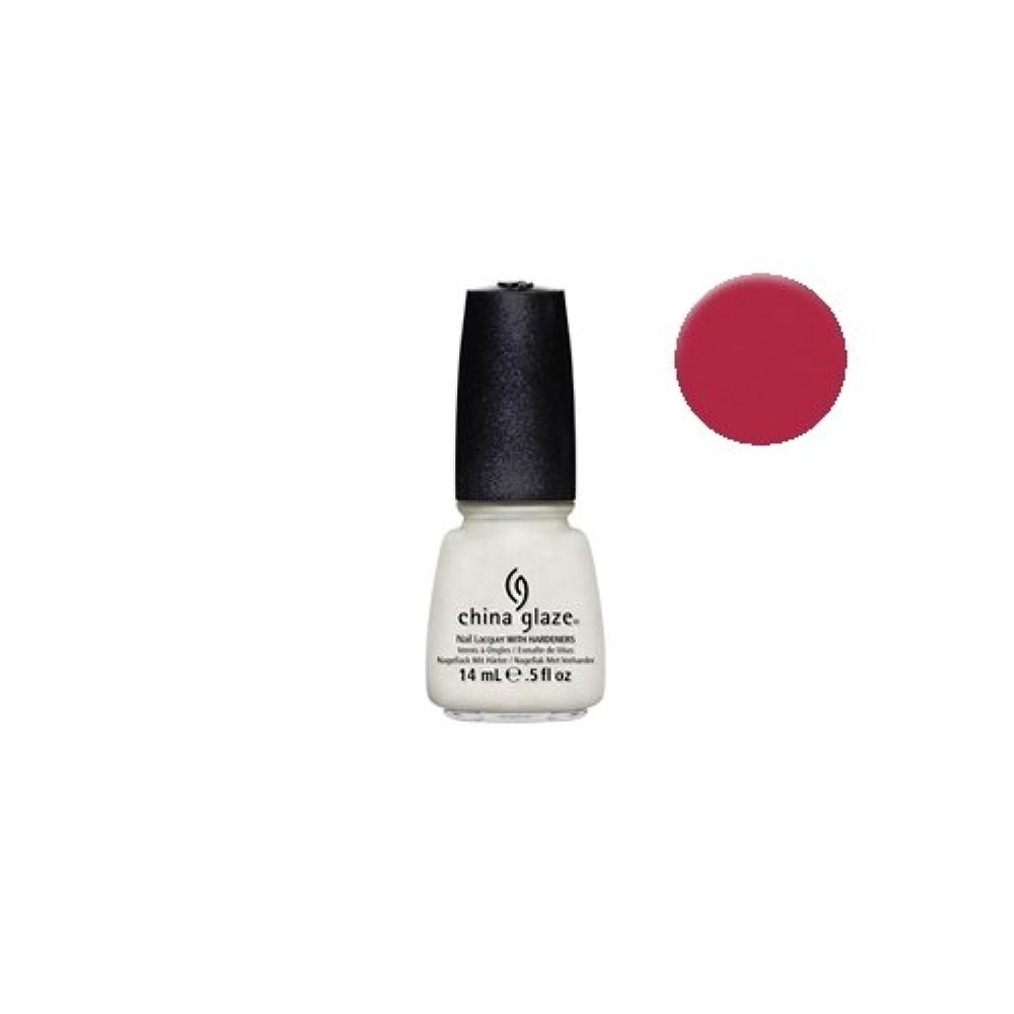 マグボトルネックタンクCHINA GLAZE Nail Lacquer - Avant Garden Collection - Passion For Petals