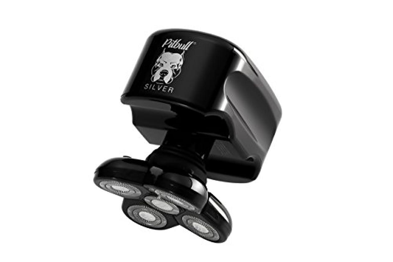 理解受付アジア人Skull Shaver (スカルシェーバー) メンズシェーバー 5つの回転刃の 電動シェーバー (銀)