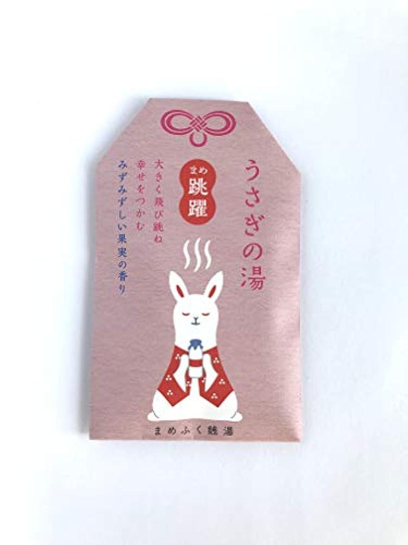 謎セクション韓国まめふく銭湯 [医薬部外品]《ちっちゃくて愛らしい縁起物たちの入浴剤》うさぎの湯