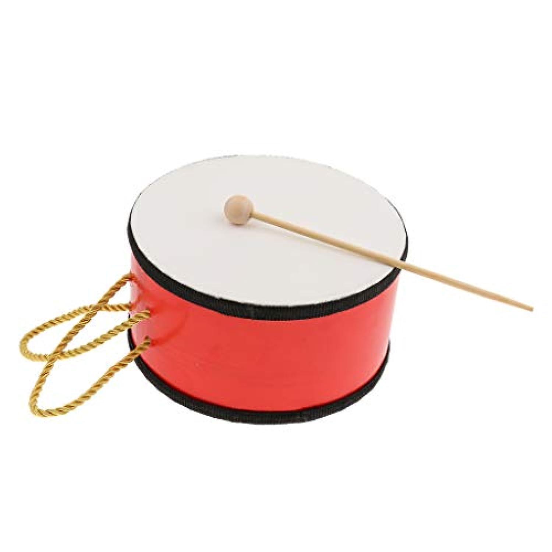 B Baosity 打楽器 ハンドドラム マレット付き 楽器 子供用 おもちゃ 贈り物 知育玩具 音楽玩具