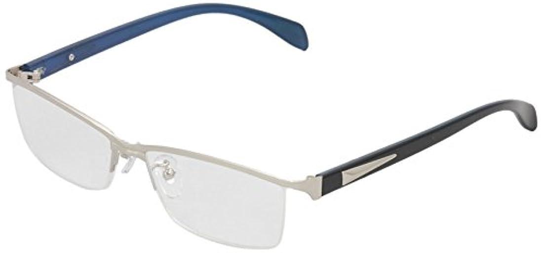 ReD(レッド) 老眼鏡 リーディンググラス 度数 +2.00 CLAW シルバー