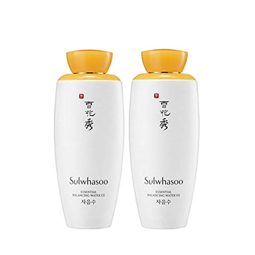 避けるシェトランド諸島キウイ雪花秀エッセンシャルバランシングウォーターEX 125mlx2本セット韓国コスメ、Sulwhasoo Essential Balancing Water EX 125ml x 2ea Set Korean Cosmetics...
