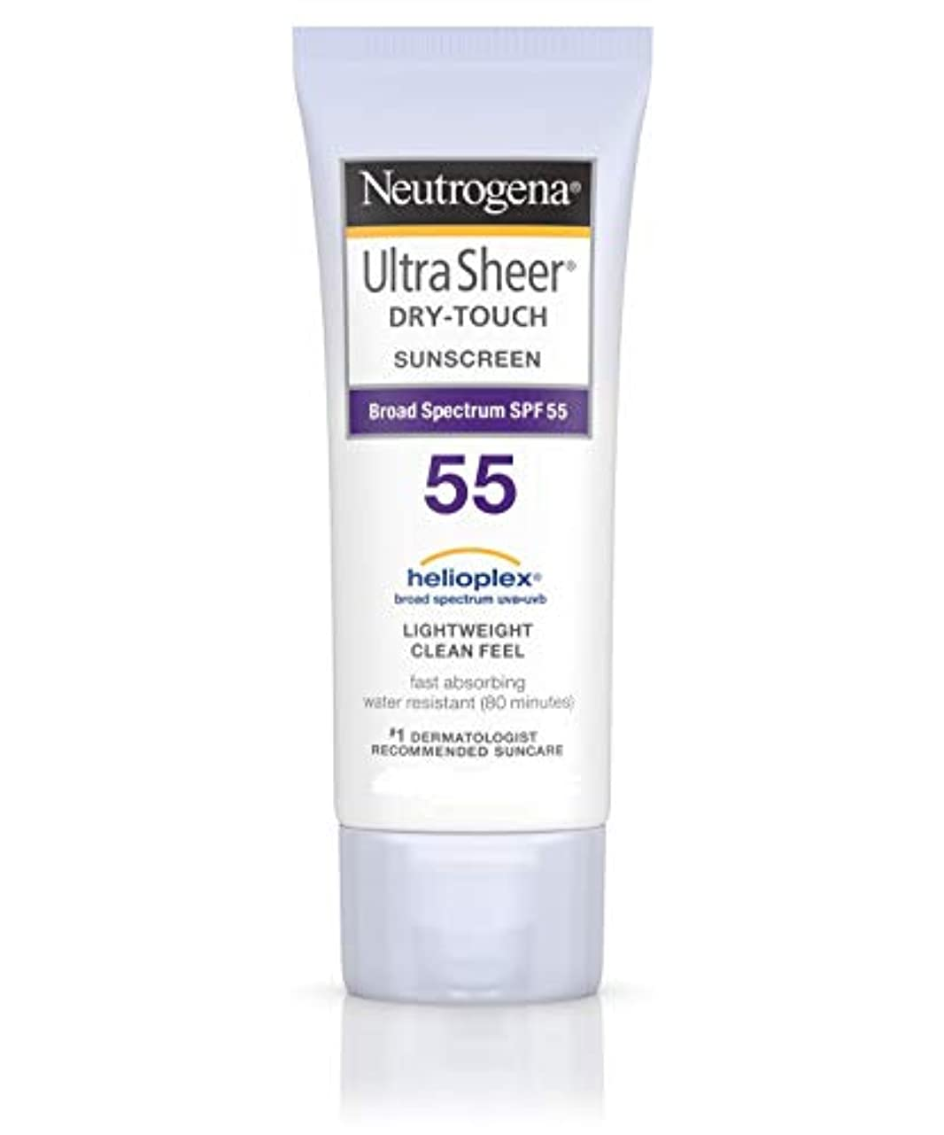 足音アーサー晴れUltra Sheer Dry-Touch Sunblock SPF-55