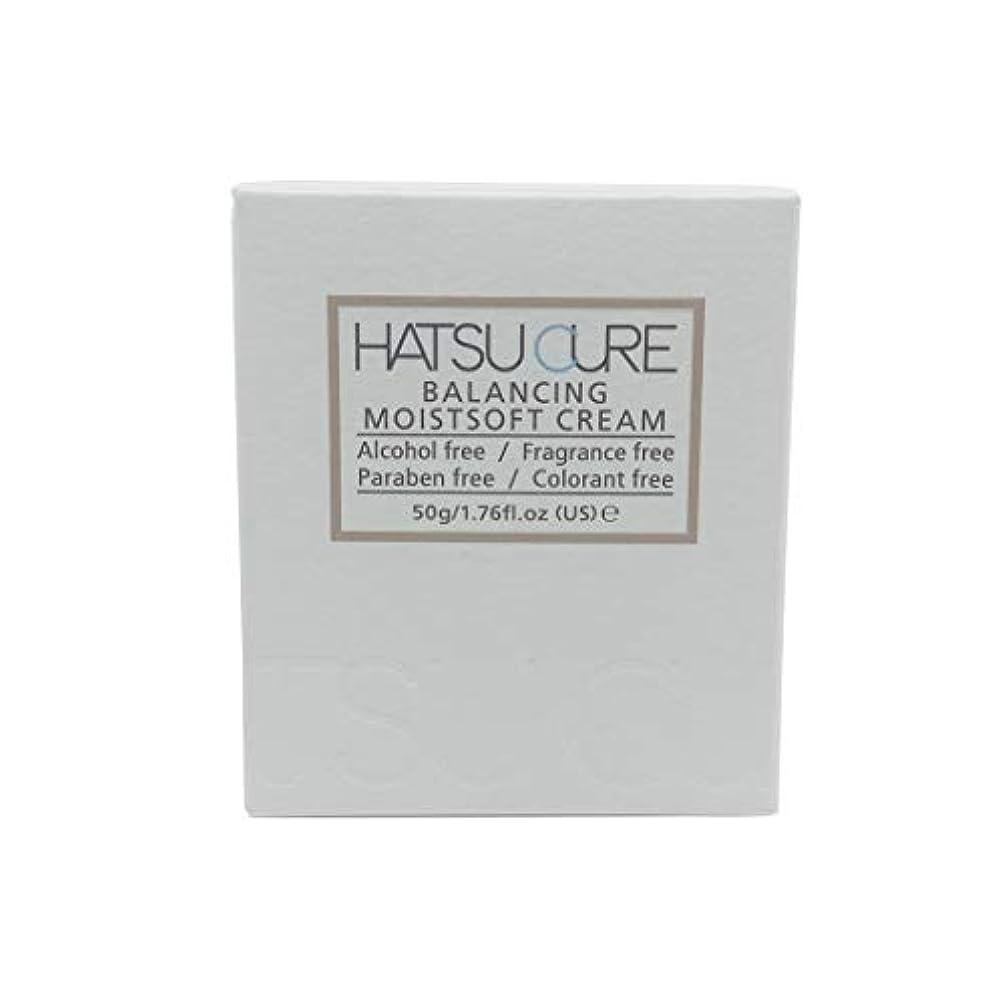 扱う本急ぐHATSU CURE バランシングモイストソフトクリームHC