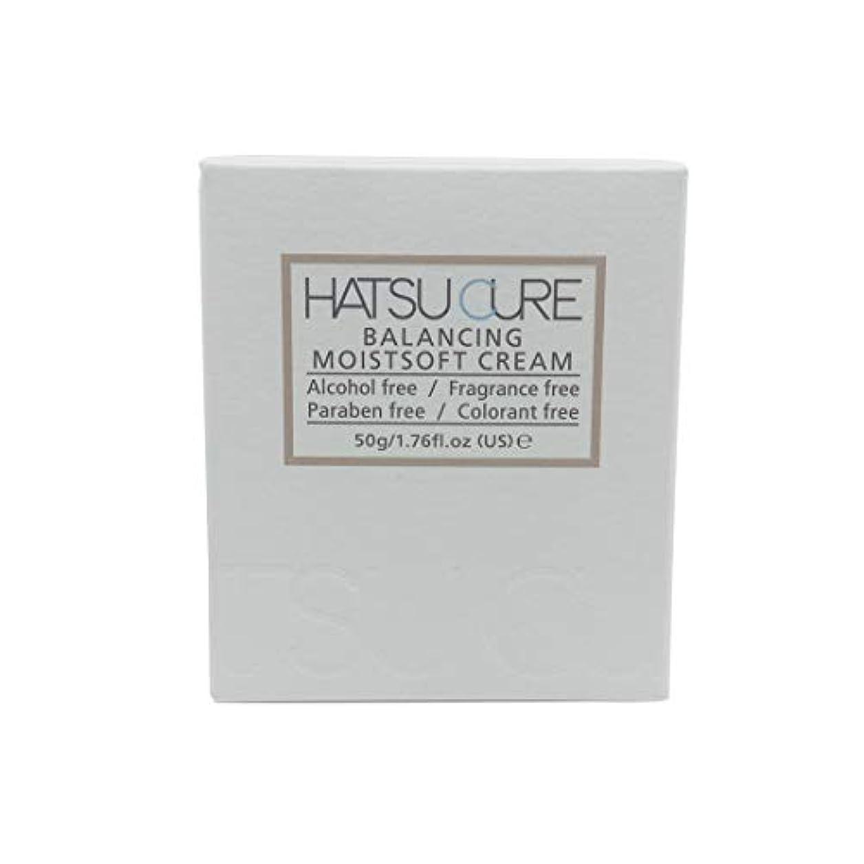 硬さ逃げる合計HATSU CURE バランシングモイストソフトクリームHC