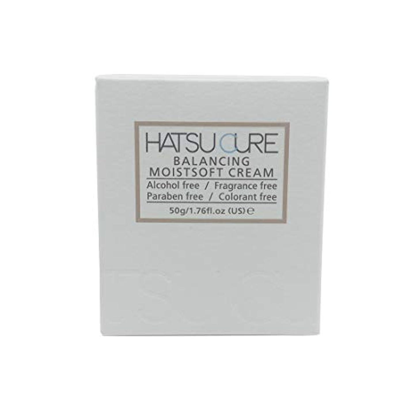残り物擬人経験的HATSU CURE バランシングモイストソフトクリームHC