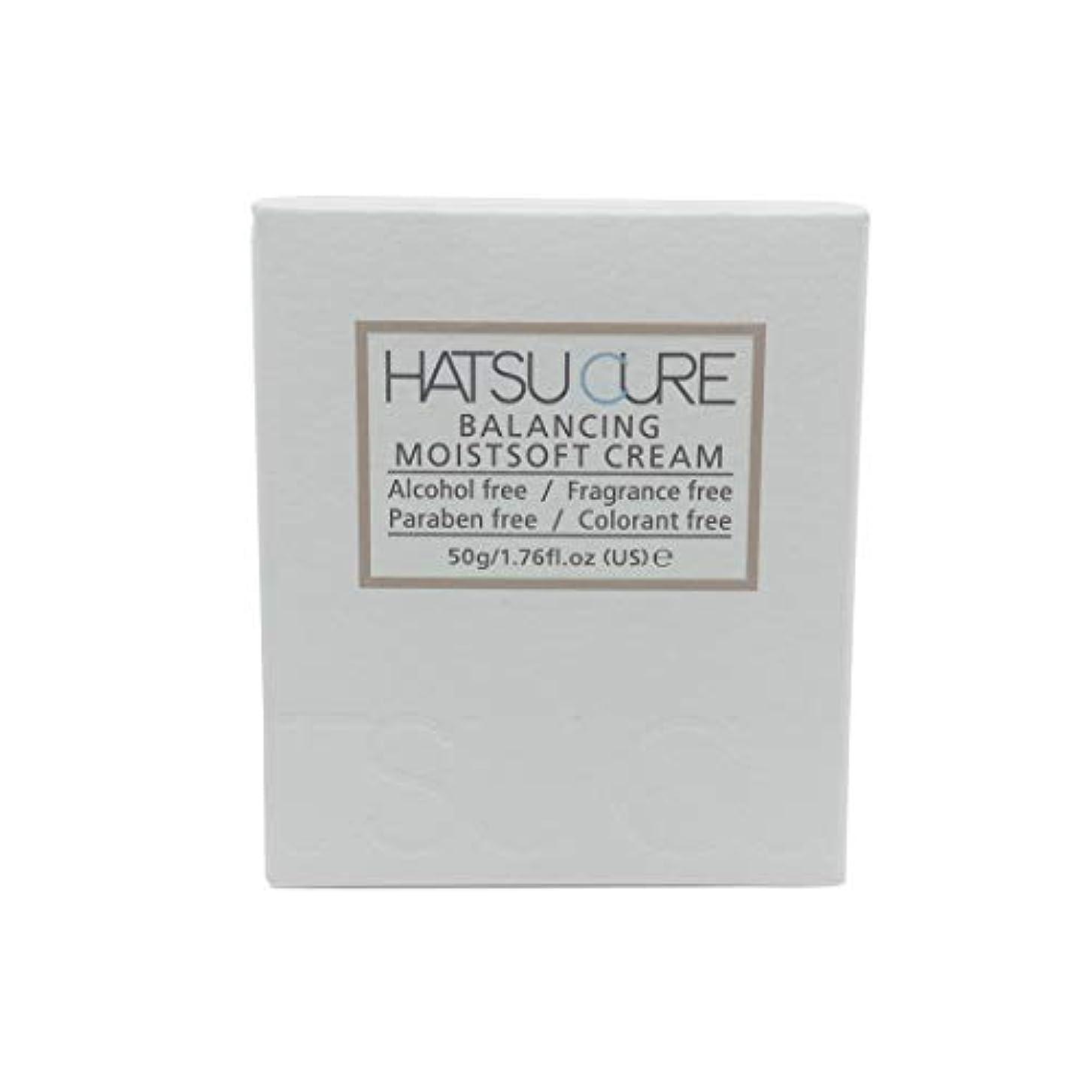 必須前売収入HATSU CURE バランシングモイストソフトクリームHC