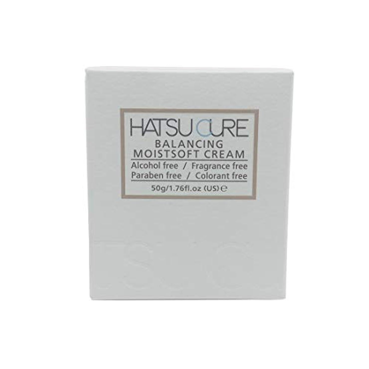 タイプひねり昼間HATSU CURE バランシングモイストソフトクリームHC