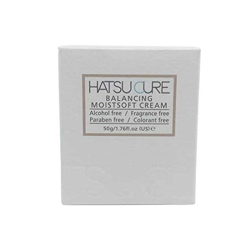 罰ライバル自動化HATSU CURE バランシングモイストソフトクリームHC