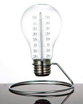 おしゃれな電球型温度計♪【DULTON S056-27 Bulb thermometer ダルトン バルブサーモメーター】アメリカン雑貨アメリカ雑貨