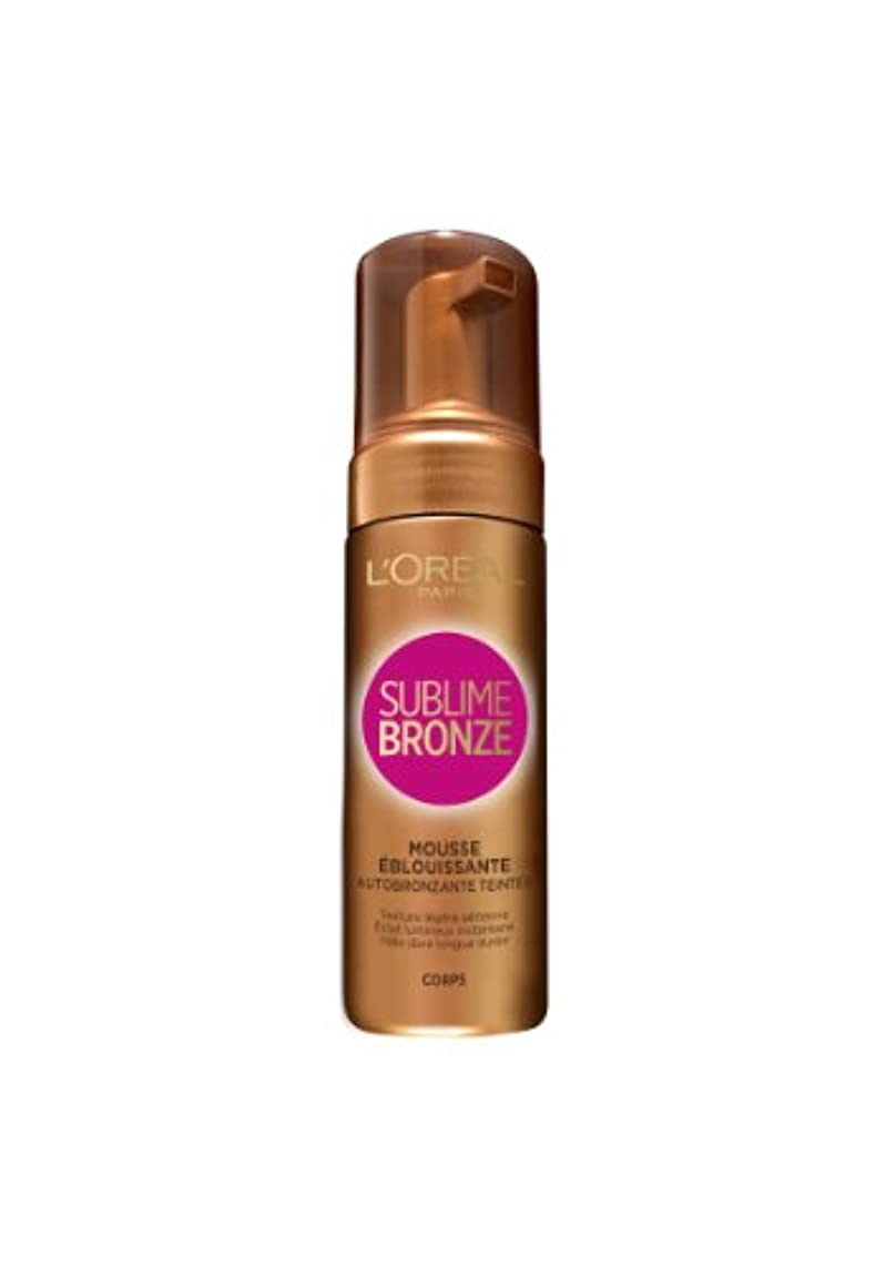 害事実ビジネスL'OREAL - SUBLIME BRONZE- MOUSSE EBLOUISSANTE 150ml