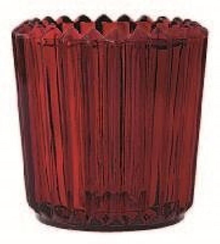 こする処理案件カメヤマキャンドル(kameyama candle) ソレイユ 「 レッド 」