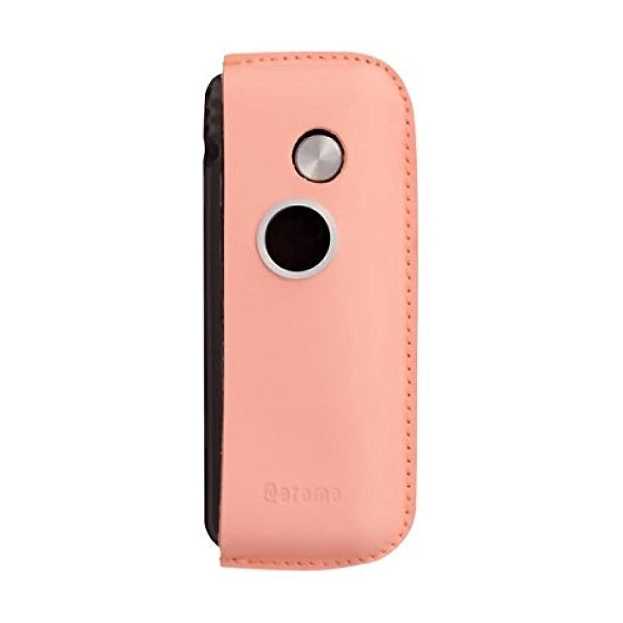 インタネットを見る試みお手伝いさんファンファン(ピンク)&人気のアロマset【モバイルディフューザー funfan+AromaOil】mobile diffuser (フレッシュハーブ)