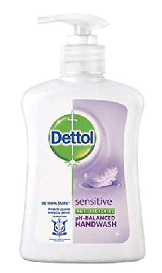幾分主要なセッティングDettol 抗菌性のphバランスの手洗いに敏感な250mlは、細菌から手を保護して、穏やかにきれいにします、24時間99.9%の抗菌保護を提供