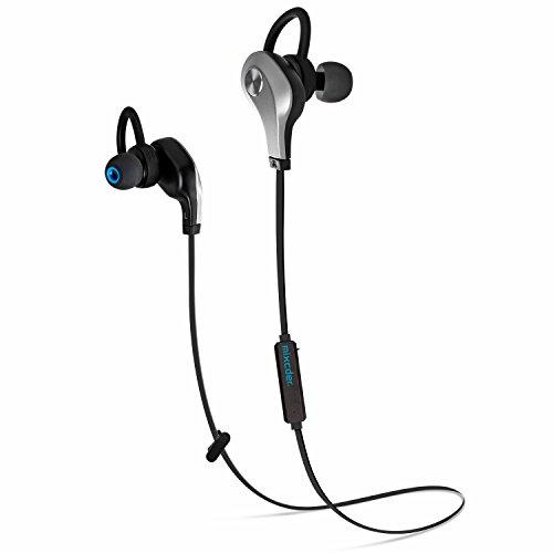Mixcder Pro911 ワイヤレス Bluetooth イヤホン 高音質 カナル型 スポーツ イヤフォン マイク内蔵 防汗 防滴 技適認証済 (シルバー・ブラック)