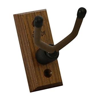 文字列スイングcc01uk-bw Hardwood Home & Studio壁マウントウクレレハンガーor Mandolinハンガー – ブラックウォールナット [並行輸入品]