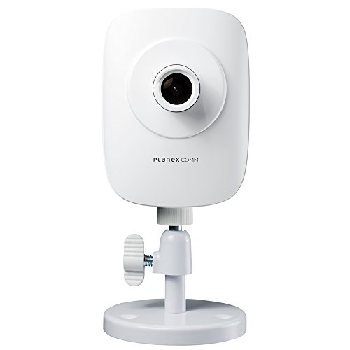 PLANEXネットワークカメラスマカメ ムーンライト高感度CMOSセンサー搭載・双方向通話・モバイルルーター対応CS-QR220
