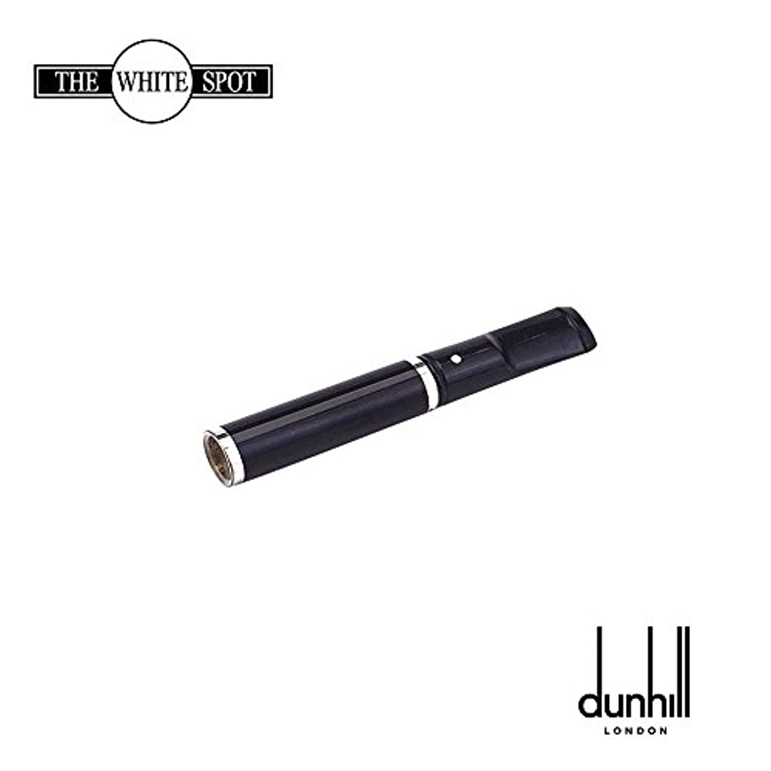 線男やもめ分泌するDunhill ダンヒル 喫煙具 ホワイトスポット シガレットホルダー ショーティ?シガレット?ホルダー ブラック?ラッカー?シルバープレート CH2817