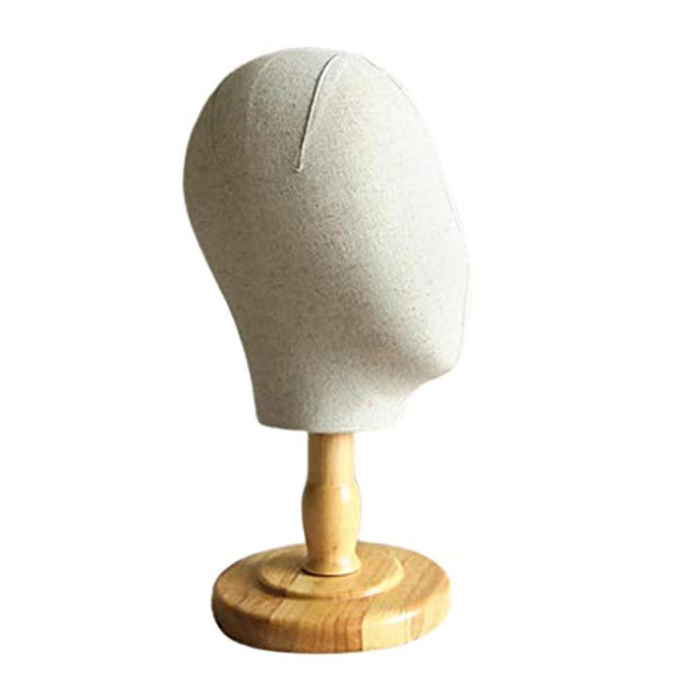 安全でないオーバーフロープログラムInjoyo マネキンヘッド 顔なし キャンバス ウィッグ 帽子 ハット ディスプレイ ホルダー