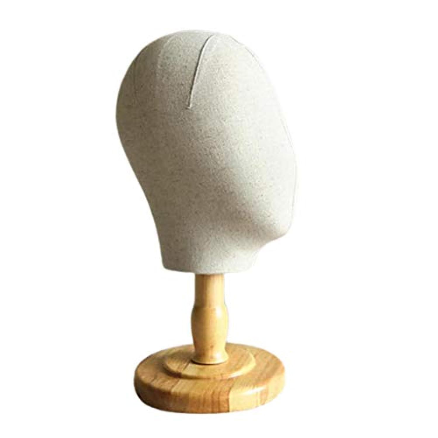 窒素きらめく注釈Injoyo マネキンヘッド 顔なし キャンバス ウィッグ 帽子 ハット ディスプレイ ホルダー