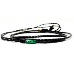 Beat Audio イヤホン・ヘッドホン用リケーブル Emerald BEA-3607 マイクロミニプラグ(4極)⇔MMCX [1.2m]