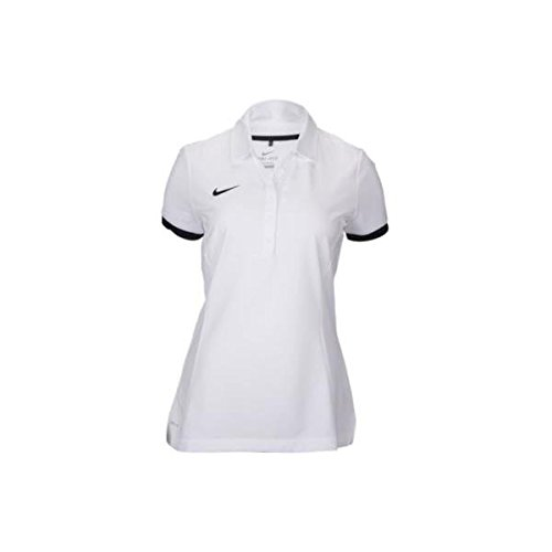 ナイキ トップス ポロシャツ Nike Team Womens Polo White/Blac x6m [並行輸入品]
