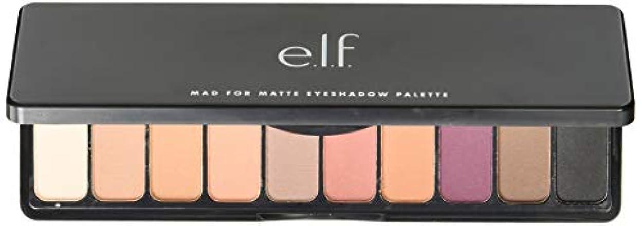 登録夫添加剤e.l.f. Mad For Matte Eyeshadow Palette - Summer Breeze (並行輸入品)