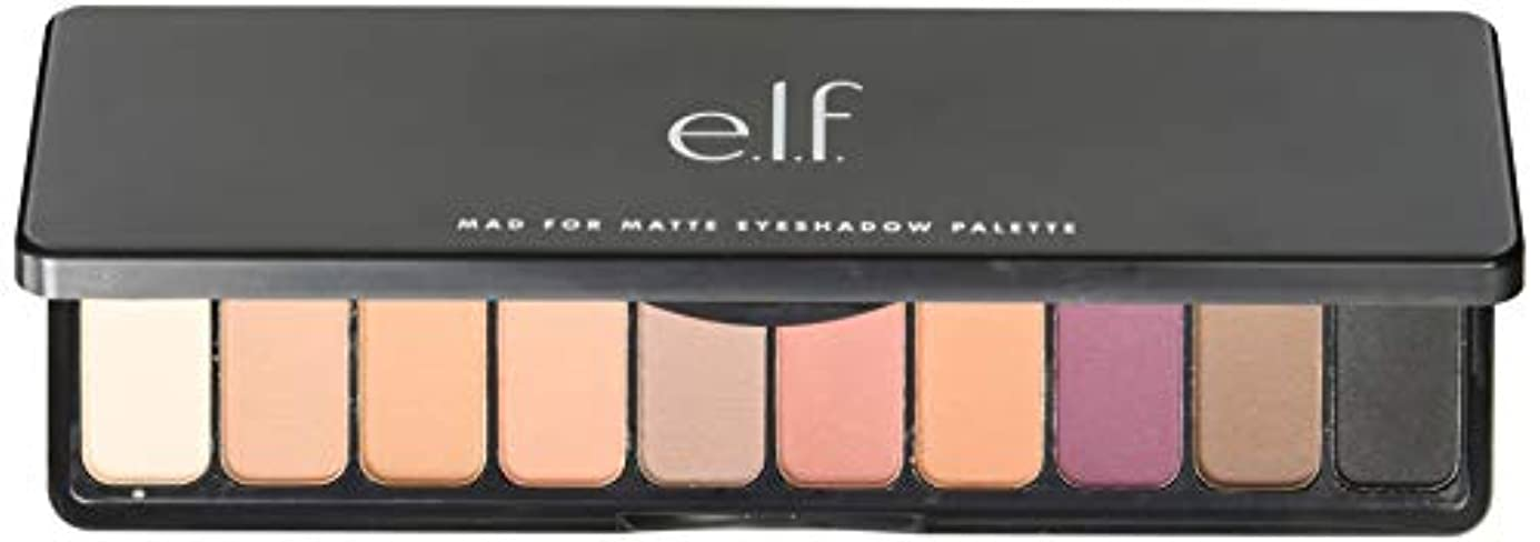 e.l.f. Mad For Matte Eyeshadow Palette - Summer Breeze (並行輸入品)
