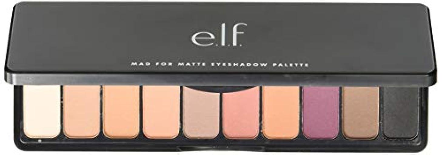 置き場リッチ敬意を表するe.l.f. Mad For Matte Eyeshadow Palette - Summer Breeze (並行輸入品)