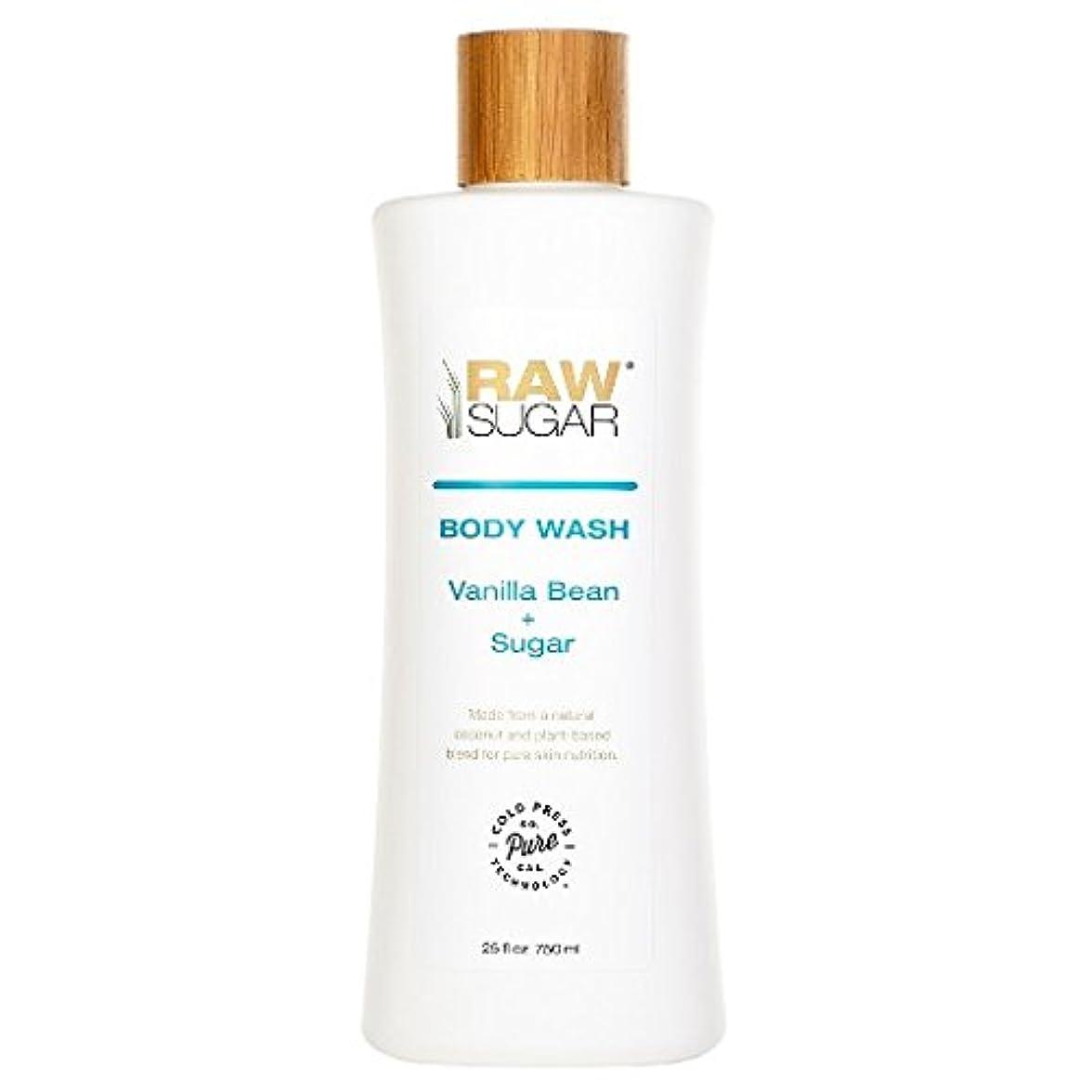 詐欺師フォークナラーバーRAWTM Sugar Awash in Expectation Vanilla Bean+Sugar Body Wash - 25 oz by raw