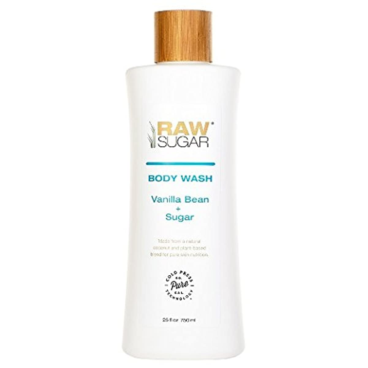 心理的下手ボルトRAWTM Sugar Awash in Expectation Vanilla Bean+Sugar Body Wash - 25 oz by raw