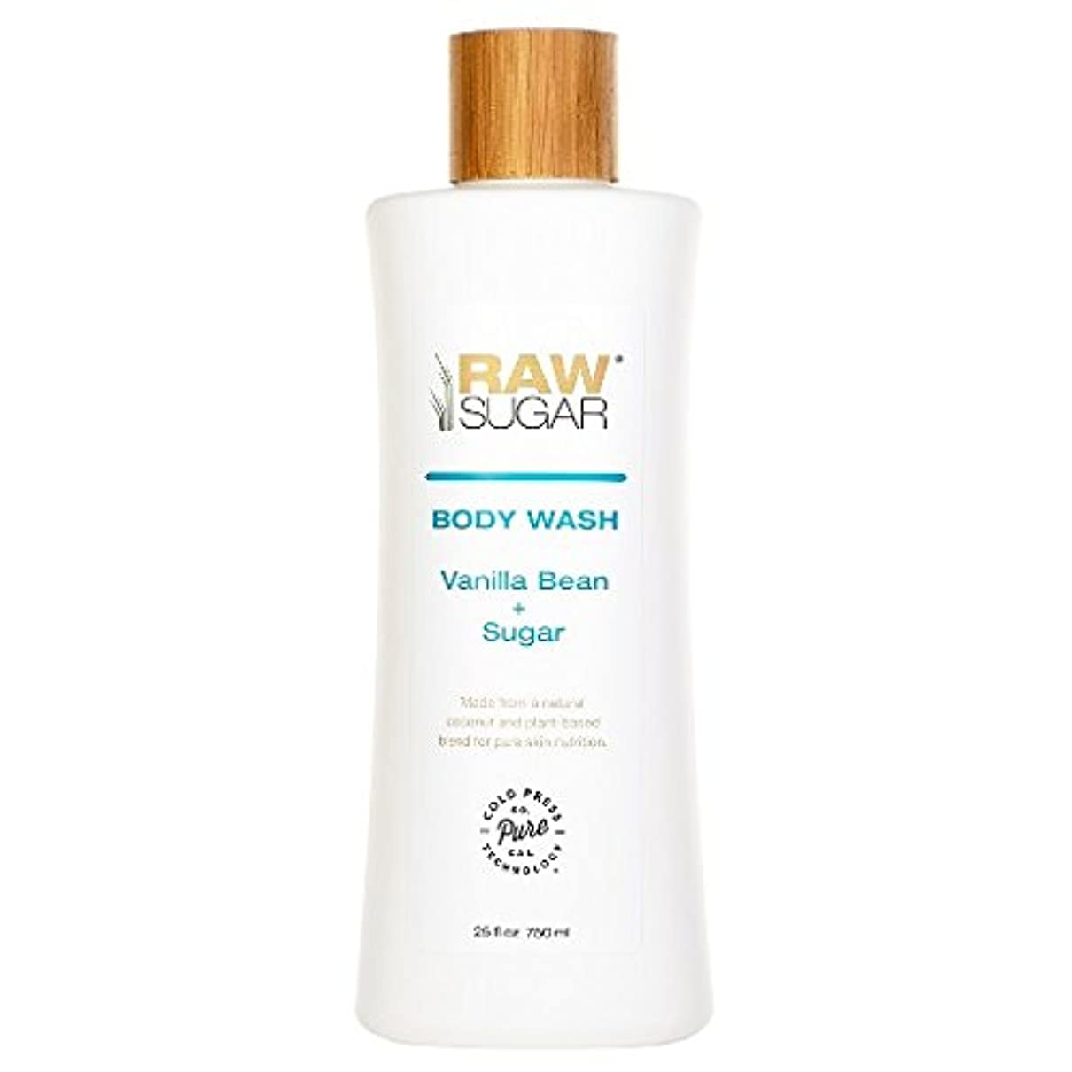 対人記録些細なRAWTM Sugar Awash in Expectation Vanilla Bean+Sugar Body Wash - 25 oz by raw