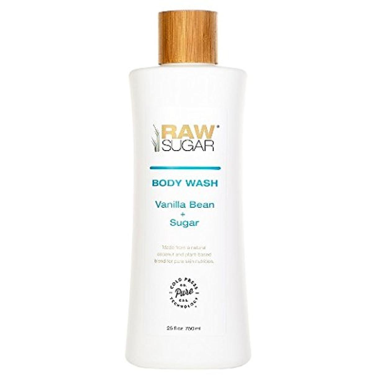 シール豊かにするぐったりRAWTM Sugar Awash in Expectation Vanilla Bean+Sugar Body Wash - 25 oz by raw