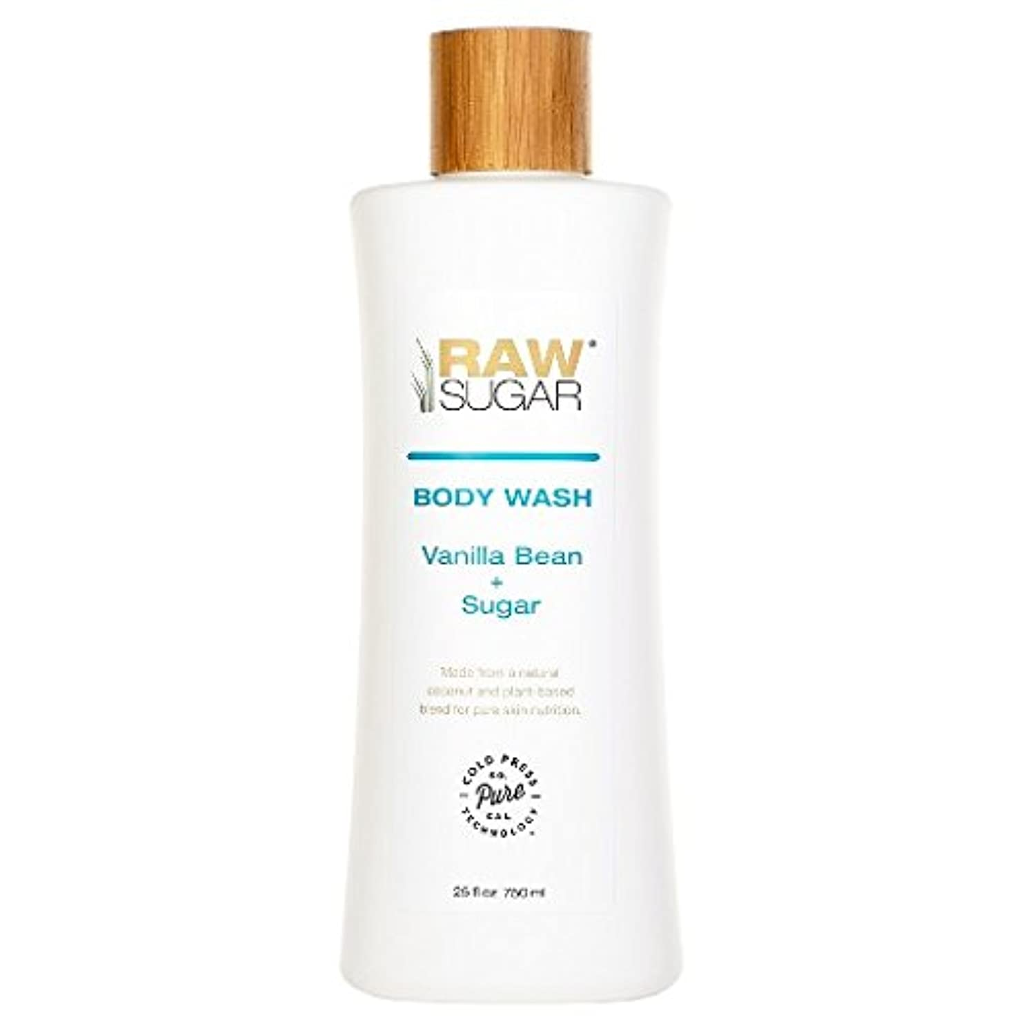 偏心定刻最大限RAWTM Sugar Awash in Expectation Vanilla Bean+Sugar Body Wash - 25 oz by raw