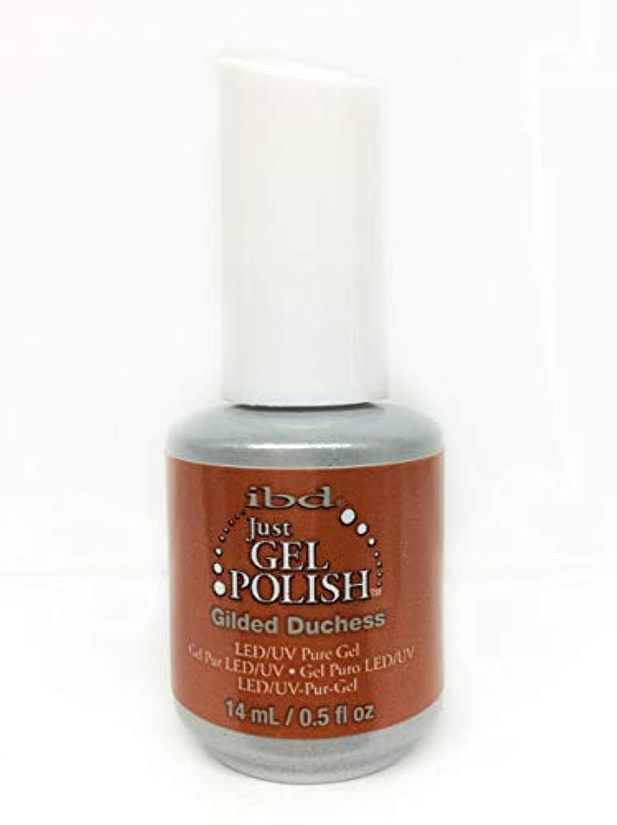 チョコレート原理加害者ibd Just Gel Nail Polish - Gilded Duchess - 14ml / 0.5oz