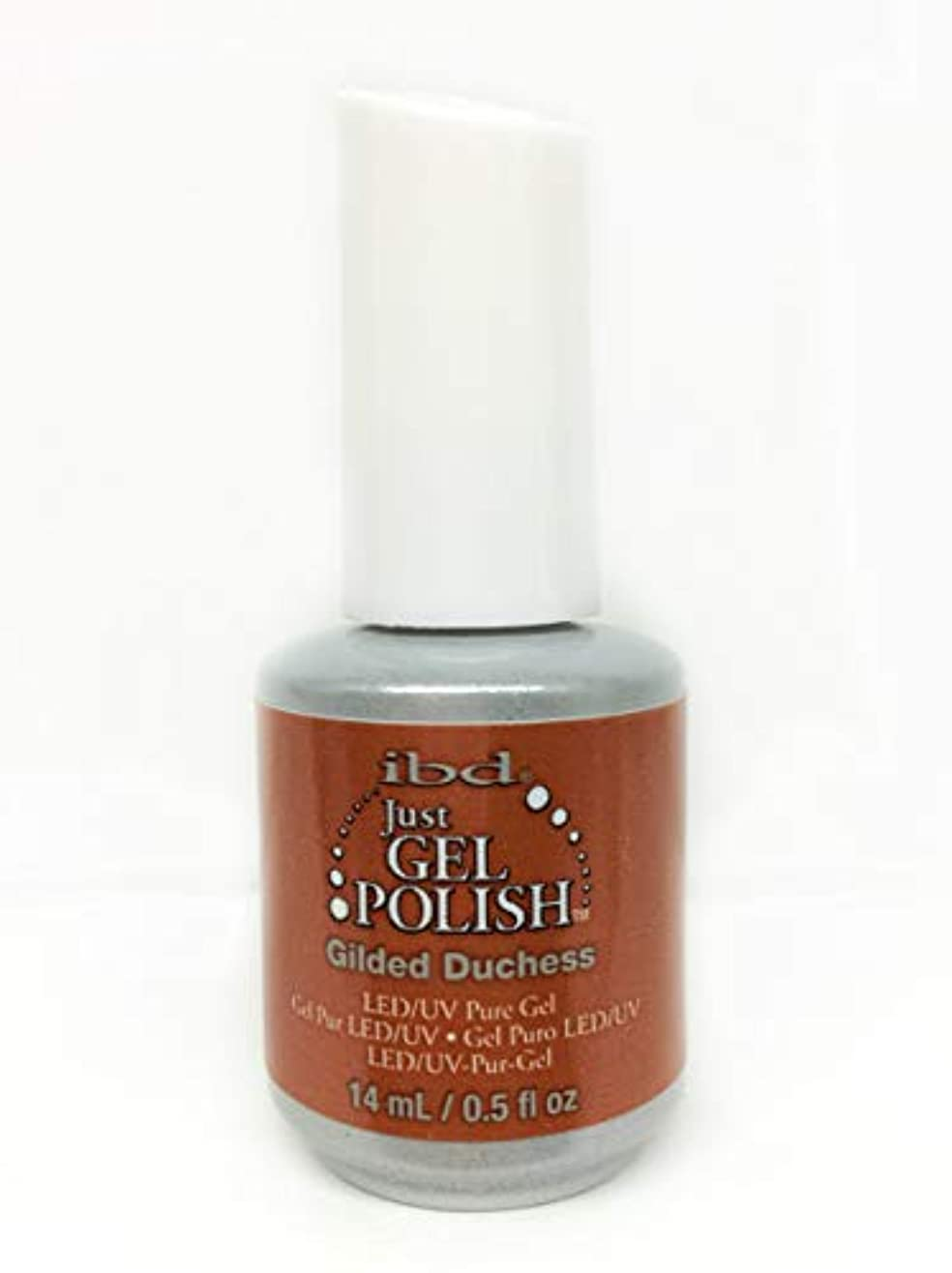 勝利湿度追放ibd Just Gel Nail Polish - Gilded Duchess - 14ml / 0.5oz