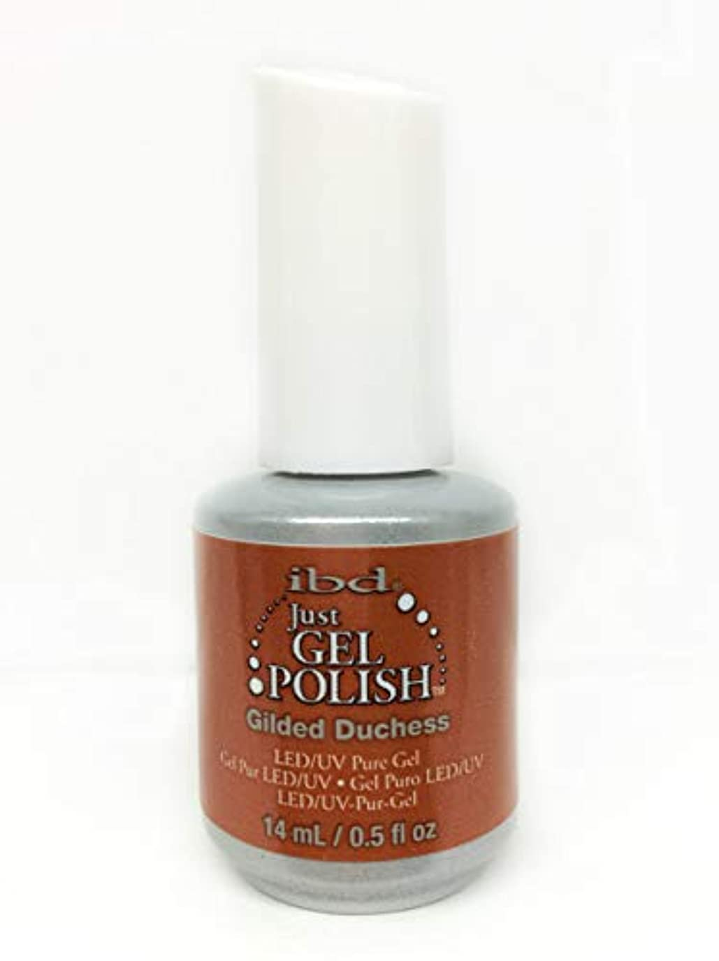 識字キャッチシンポジウムibd Just Gel Nail Polish - Gilded Duchess - 14ml / 0.5oz