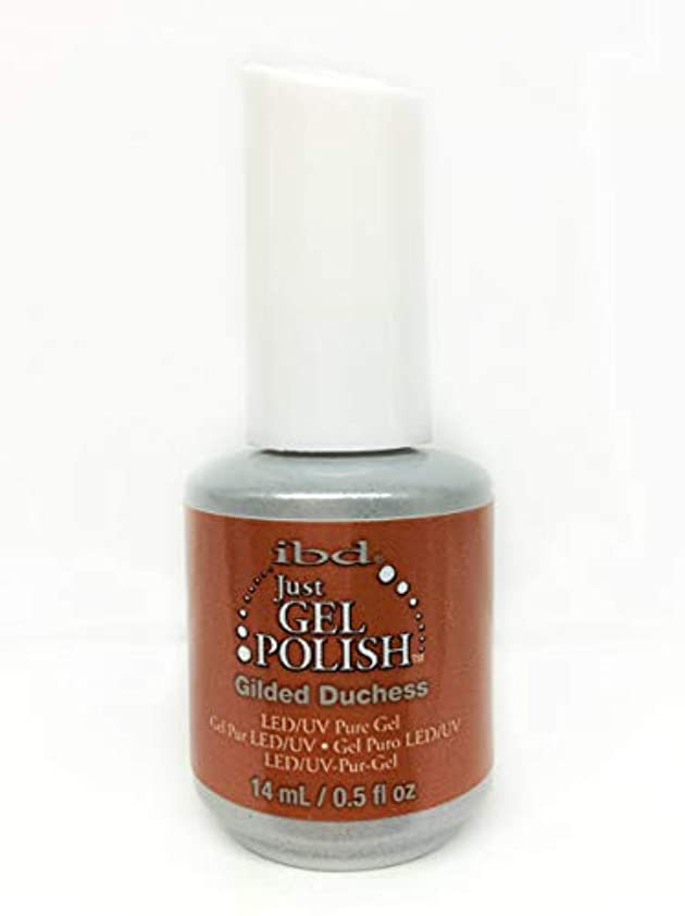ミンチ寛容なする必要があるibd Just Gel Nail Polish - Gilded Duchess - 14ml / 0.5oz